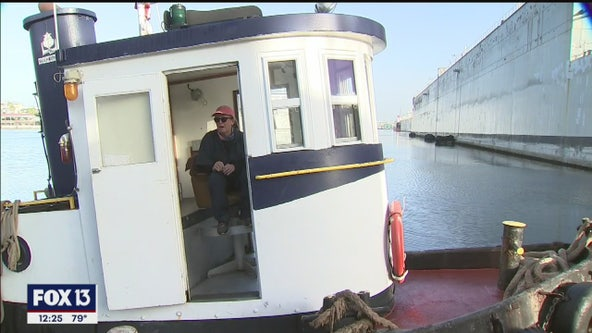 Tugboat predates Gasparilla on Tampa Bay