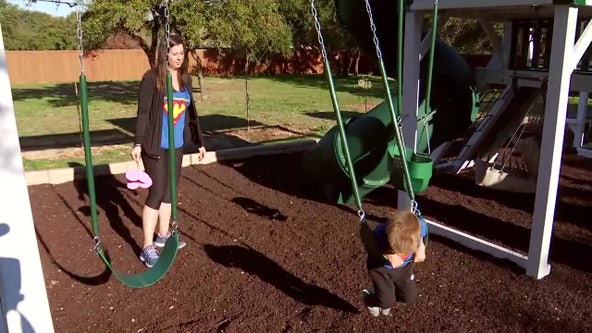 Swing set for terminally ill child leads to lawsuit