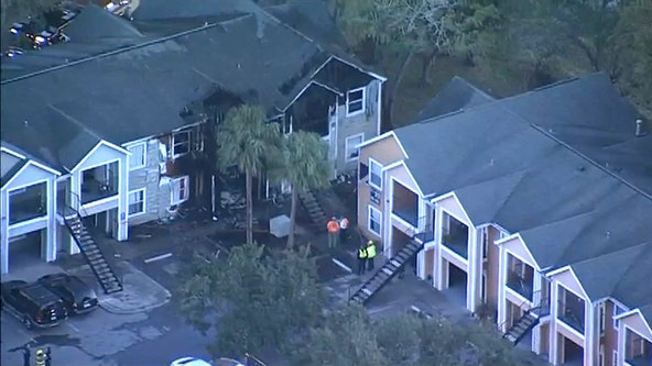 More than a dozen families displaced after Bradenton apartment fire, officials say
