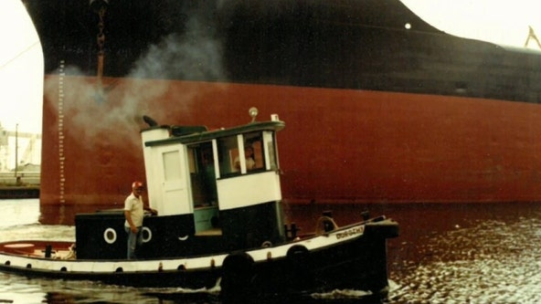 Dorothy the tugboat has been around much longer than the celebration of Gasparilla