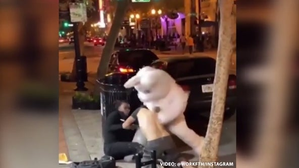 Infamous 'Orlando Easter Bunny' facing hit-and-run charges