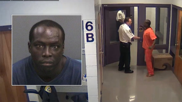 Hillsborough County inmate caught on camera punching deputy in the face