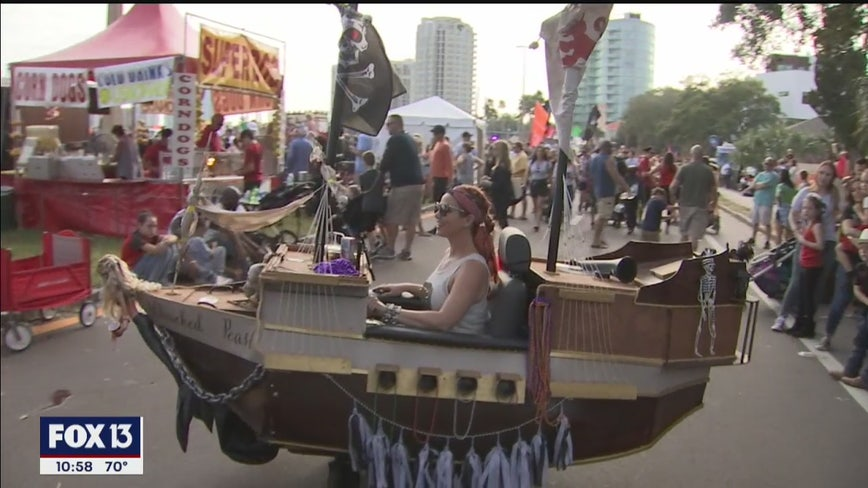 Hundreds gather for Children's Gasparilla parade