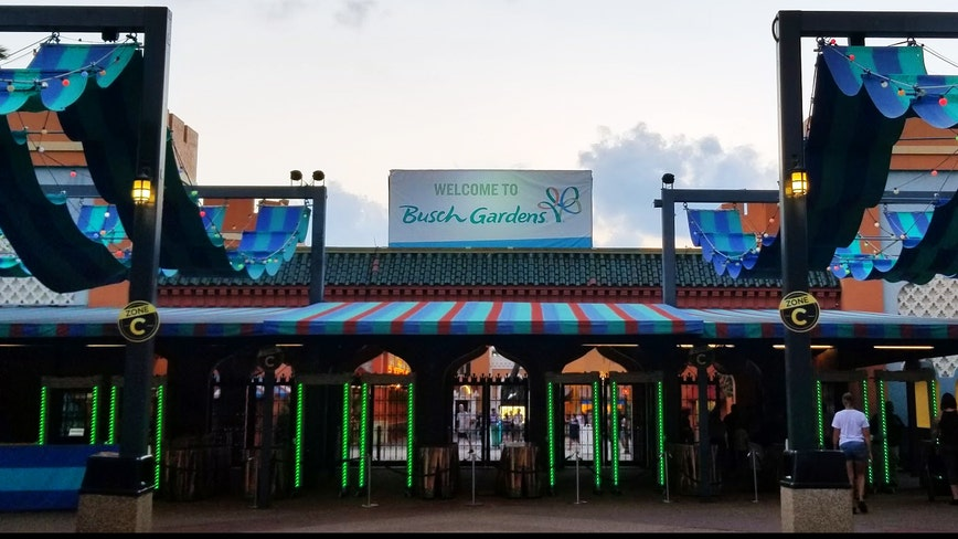 Busch Gardens calendar shows park open June 11