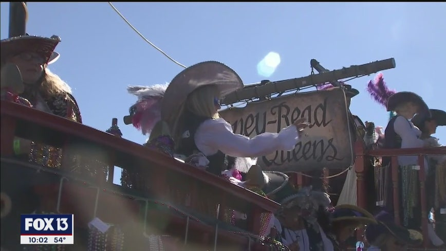 Ahoy Matey: Pirates invade Tampa during annual Gasparilla celebration