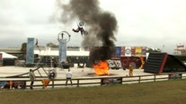 Get your adrenaline pumping with this Florida State Fair stunt show