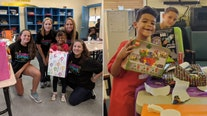 Special organization brings the birthday party – and smiles – to children