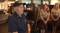 Pinellas Marine celebrates 95th birthday with a surprise party
