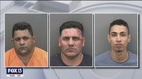 Multiple suspected fuel thieves arrested when deputies find hidden tanks, bogus credit cards