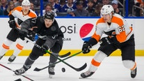 Tampa Bay Lightning top Flyers for team-record 11th straight home win