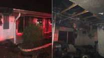 Spring Hill home heavily damaged in fire