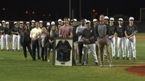 MLB star Pete Alonso's jersey retired at Plant High School