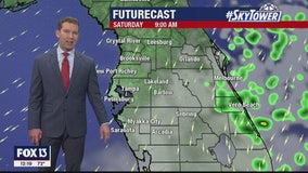 Friday afternoon weathercast