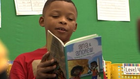 8-year-old creates charity focused on reading to preschoolers, seniors