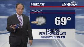 Thursday evening weathercast