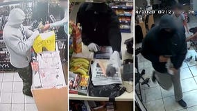 Tampa police search for serial armed robber