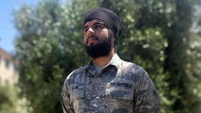 Air Force to allow uniformed members to wear turbans, hijabs, beards in new dress code update