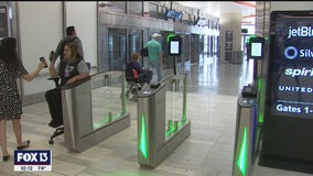 Tampa airport automates boarding pass checkpoints