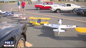 Ride and fly at the 10th anniversary of Planes, Trains, and Automobiles