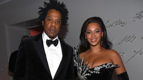TMZ: Beyoncé and Jay-Z stay seated during Super Bowl national anthem performance