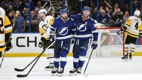 Stamkos, Kucherov, Vasilevskiy lift Lightning over Penguins