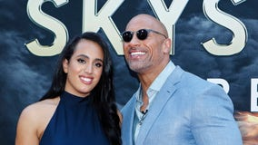 The Rock's daughter training for WWE