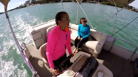 All-female boat crew inspires others to make waves