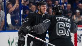 Vasilevskiy stops 15 shots, Tampa Bay Lightning beat Islanders 3-1
