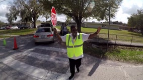 Crossing Guard of the Year hails from Riverview Elementary School