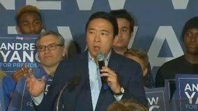 Democrat Andrew Yang is suspending his 2020 bid for president