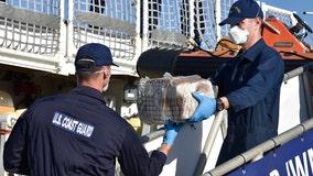 Coast Guard seizes $46 million worth of cocaine, arrests 9 in Caribbean