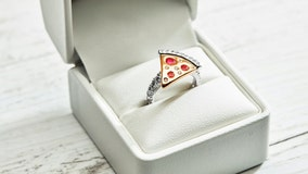 Domino's Australia giving away pizza engagement ring