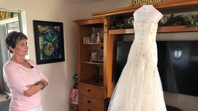 Tampa mom hopes to honor daughter's memory by giving away wedding dress