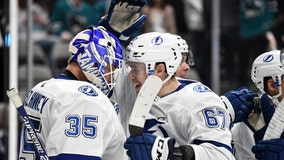 Kucherov, Stamkos lead Lightning in 3-0 win over San Jose Sharks
