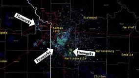Kansas City celebrating Chiefs' Super Bowl win captured on weather radar