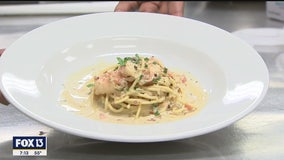 Recipe: Shrimp casino pasta