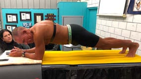 At age 62, retired U.S. Marine holds plank for over 8 hours, breaks world record