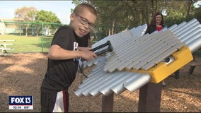 Former Pinellas teacher's estate funds sensory playground for special needs students