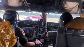 Air Force tanker, carrying students on STEM field trip, makes emergency landing at MacDill