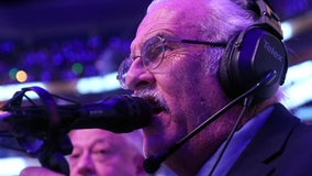 Legendary public address announcer Paul Porter to call his 3,000th game