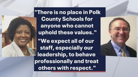 Polk schools administrator suspended for allegedly making threats over teacher rally