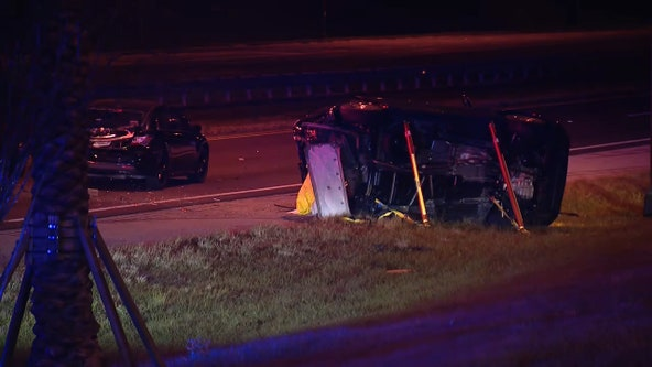 FHP: 5-year-old girl, 2 women dead after multi-car crash along SR 429 near Disney World