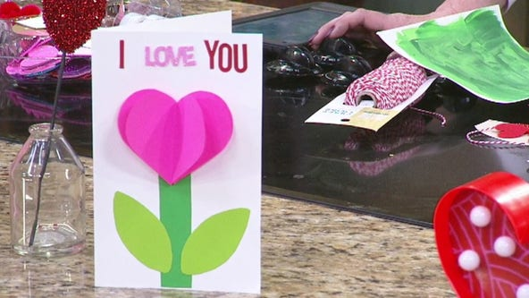 Craft your own Valentine's Day cards for the kids