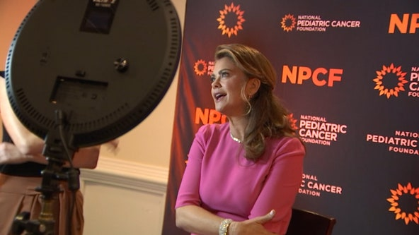 Kathy Ireland joins forces with Pediatric Cancer Foundation