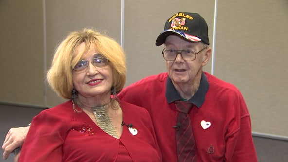 Couple proves it's never too late for love