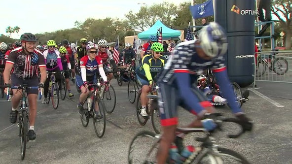 Hundreds thank veterans and first responders during 8th annual Honor Ride in St. Petersburg