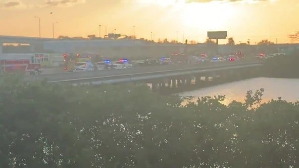 FHP: 1 dead after crash sends car into Tampa Bypass Canal