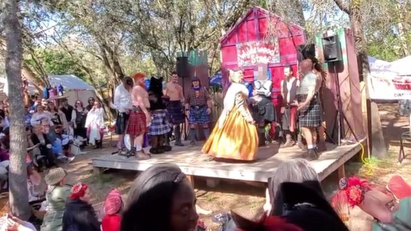 'Men in Kilts Competition' at Bay Area Renaissance Festival promises a treat, visitor says it's offensive