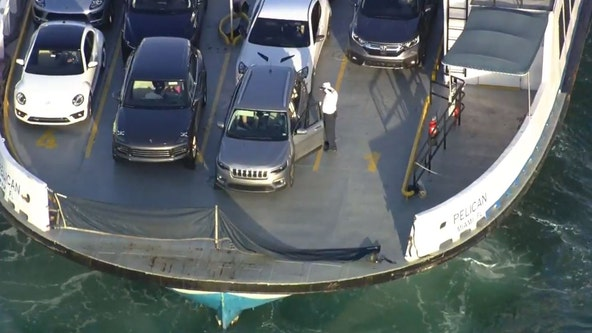 2 women killed when car fell off South Florida ferry