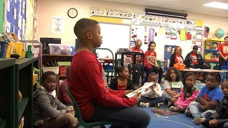 Read all about it: Young boy launches charity to read to kids, give them books
